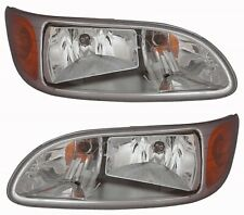 PETERBILT TRUCK RIG 325 335 337 340 2000-2015 HEADLIGHTS HEAD LIGHTS LAMPS PAIR