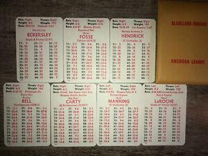 CLEVELAND INDIANS 1976 APBA 24 (20 + 4 XB's) Card Team Set -MINT- ECKERSLEY