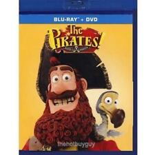 The Pirates Band of Misfits (Blu-ray/DVD, 2015, 2-Disc Set) NEW