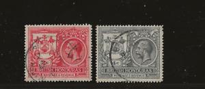 British Honduras, Peace Commemoration, 1921, SC 89/90, SG 121/122