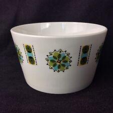 Vintage 1960s Ridgway Potteries Colclough China Sugar Bowl Geometric Design