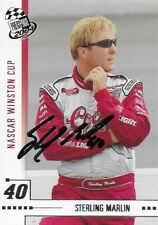 STERLING MARLIN AUTOGRAPHED 2004 PRESS PASS RACING NASCAR PHOTO TRADING CARD #18