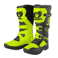 O`Neal Oneal RSX pro Cross Stiefel Enduro schwarz neon gelb Gr. 45 Teststiefel