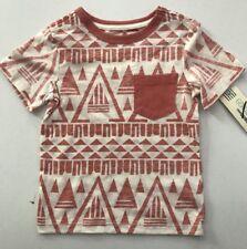 Genuine Kids by Oshkosh TODDLER Tribal Print Pocket Tee Shirt 2T