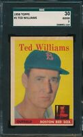 1958 Topps Set Break # 1 Ted Williams SGC 2 Not PSA *OBGcards*