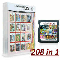 NEW 208 in1 Games Cartridge Multicart For Nintendo DS Lite NDS NDSL NDSI 2DS 3DS