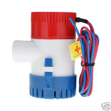 12V AUTOMATIC SUBMERSIBLE BOAT BILGE WATER PUMP 1100 GPH AUTO with FLOAT SWITCH