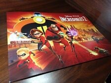 Disney's The Incredibles 2 - 4 Mini Posters-New-Free Shipping with Tracking