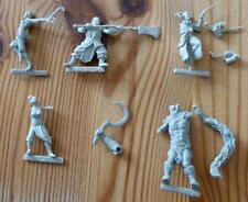Kraken Editions Alkemy Miniatures Incomplete Figures x 5