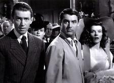 Katharine Hepburn James Stewart & Cary Grant photo -C639- The Philadelphia Story