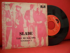 SLADE Take Me Bak'Ome 7/45 RARE 72' PORTUGAL UNIQUE SLEEVE GLAM ROCK T-REX