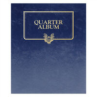 1 Whitman Blank Album 4477 For Quarters Coins Long Term Storage 44 slots 2 Pages