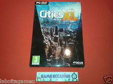 CITIES XL 2011 PC CD-ROM FR COMPLET