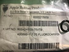 Apple Rubber Products Inc Fluorocarbon O-Rings AS568-111 75 Qty 10