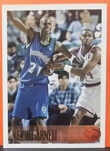 Kevin Garnett regular card 1996-97 Topps #131