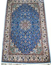 Genuine Kashmir Hand Knotted Real Silk Rug 3x5