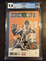 Iron Fist issue #3 1:50 JG Jones Variant CGC 9.8
