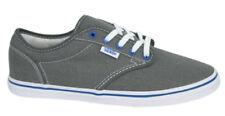 Zapatillas de lona de mujer de color principal gris de lona
