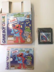 Elmo In Grouchland Sesame Street Gameboy Colour Game