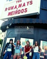 """THE RUNAWAYS"" @ THE WHISKY A GO GO 1977 JOAN JETT LITA FORD 8X10 PHOTO (ZZ-967)"