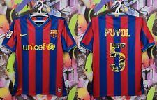 Barcelona Carles Puyol #5 Barca Football Shirt Soccer Jersey Nike Mens size S