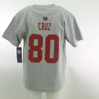 New York Giants Official NFL Super Bowl Cruz Kids Youth Size T-Shirt New Tags