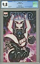 Thor #7 CGC 9.8 Skan Variant Cover Edition Galactus Black Winter Story Slab City