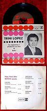 Single Trini Lopez: Le Ragazzine si Picchiano coi fiori (Reprise RA 3035) D 1963