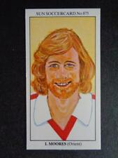 The Sun Soccercards 1978-79 - Ian Moores - Orient #875