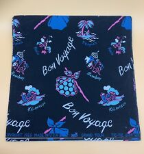 Rare 1955 Handpainted Tie-Tie Wrapping Paper