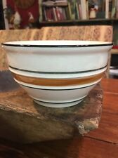 """TWO Tienshan Stoneware COUNTRY CROCK 6"""" Cereal Blue Green Bowls"""