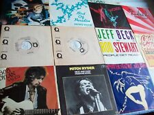 LOT!11 SINGLES!!-BOB DYLAN,JEFF BECK,MITCH RYDER,LINK WRAY,SNOWY WHITE-SEHR GUT!