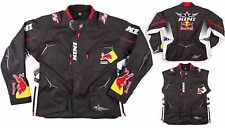 GIACCA JACKET CROSS ENDURO KINI RED BULL COMPETITION PRO NAVY RED TG L
