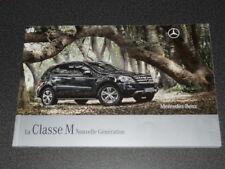 MERCEDES-BENZ SUV classe M brochure catalogue souple édition 04/2008