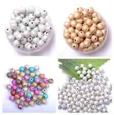 Stardust Acrylic Round Ball Charms Spacer Beads DIY 4MM 6MM 8MM 10MM 12MM