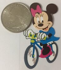 MINNIE MOUSE LIL TRAVELER Stickers (11pc)Disney•Paris•Biking•Eiffel Tower