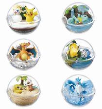 Lizenzierte Re-Ment Pokemon Figuren Schiggy Pikachu Arktos Enton Glurak Togeppi