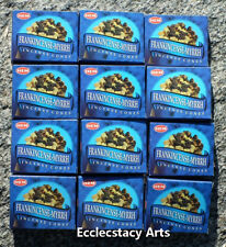 Hem Frankincense-Myrrh Incense Cones, Bulk Lot 12 Pack of 10 Cones, 120 Total