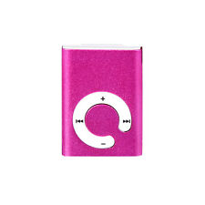 New Mini MP3 Player USB Clip Metal Music Media Player Support Micro SD TF Card