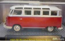 1960 VW Microbus Deluxe European Model 1:64 Scale Die-Cast From Auto-Thentics