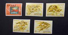 Ghana #559-#563, Mint, NH, OG Imperf