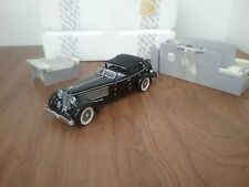 New ListingFranklin Mint 1/24 Die Cast 1940 Duesenberg Sj Town Car