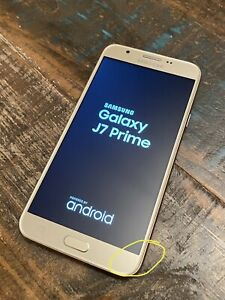 Samsung Galaxy J7 Prime 16GB Champagne Gold (T-Mobile) Pass Code Locked