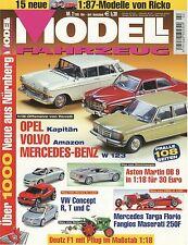 Zeitschrift Modell Fahrzeug 2 2005 Giulietta Spider Kreidler RS Norton Manx 500