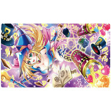 FREE SHIPPING Yugioh Playmat Dark Magician Girl Magic Formula Play Mat MFC-000