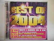 BEST OF 2004 : TOUS LES TUBES EN 2 CD - LESLIE, POKORA, O-ZONE... || CD  PORT 0€