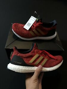 Adidas X Game Of Thrones Ultra Boost House Lannister Red EE3710 Women's Size 9