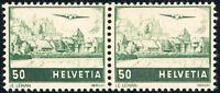SCHWEIZ 1941, MiNr. 389 DP, tadellos postfrisch, gepr. Marchand, Mi. 180,-