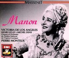 Victoria De Los Angeles Massenet: Manon  Chausson: Poème de lam CD
