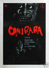Onibaba Japanese horror Movie poster print